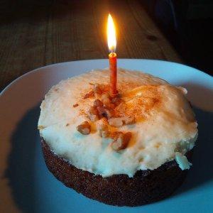 #carrot #cake #spelt #walnut
