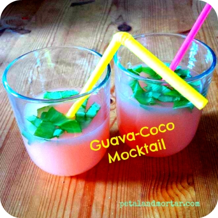 #mocktail #guava #coconut #coconutwater #exotic