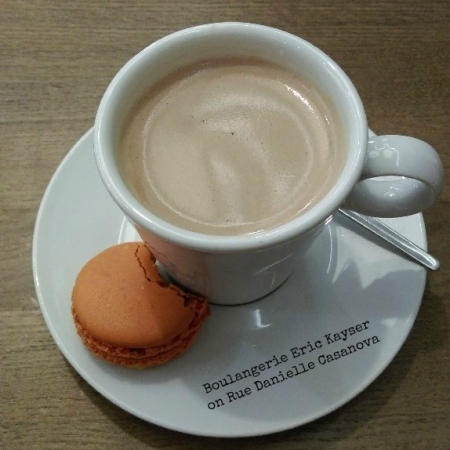 #boulangerie #patisserie #paris #france #macaron #hotchocolate #erickayser