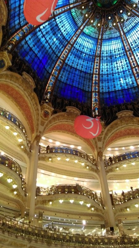 #paris #france #haussmann #galerieslafayette #shopping