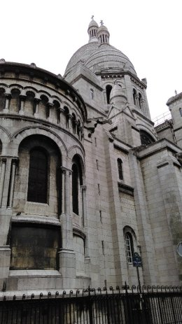 #paris #france #sacrecoeur #montmartre #church