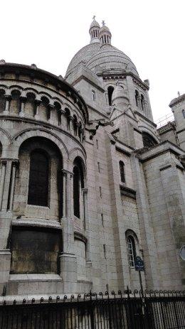 #paris #france #sacrecoeur #montmartre #church